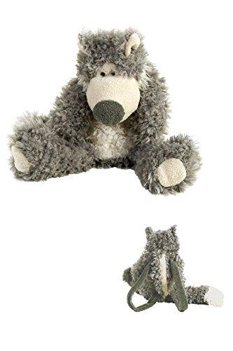 Big Bad Wolf Tote Bag - Trick or Treat Bag - Purse - Cuddly Friend