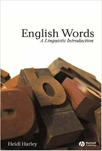 Book English Words: A Linguistic Introduction (The Language Library)