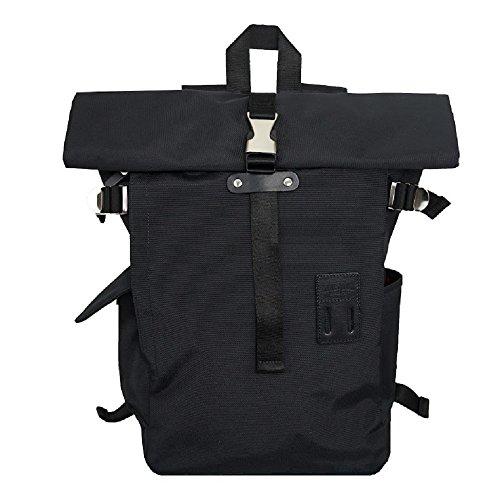 Harvest Label Urban Rolltop Backpack 2.0 (Black) -