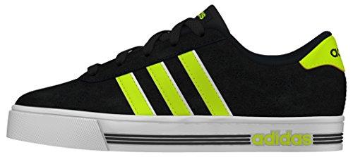 adidas Daily Team K, Zapatillas de Deporte Para Niños Negro (Negbas / Amasol / Ftwbla)