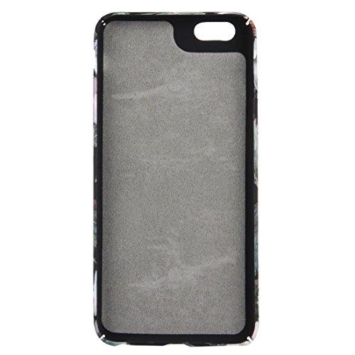 Wasserabziehbilder Retro Ölgemälde Kamelie Muster Anhänger PC Schutzhülle für iPhone 6 Plus & 6s Plus by diebelleu