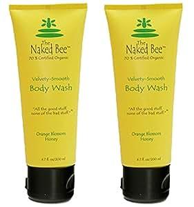 The Naked Bee Orange Blossom Honey Body Wash 10 Fl Oz