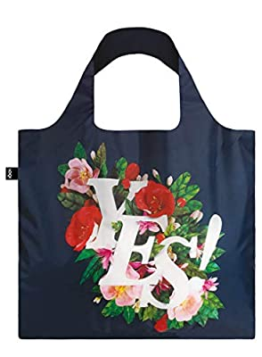 LOQI AR.YE Artist Antonio Rodriguez Yes Shopping Reusable Grocery Bags One Size