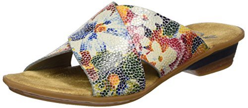 Mules Women's 90 Multicolor Rieker 63460 Ice multi O0xvqww6E1