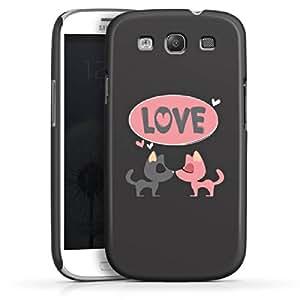 Carcasa Design Funda para Samsung Galaxy S3 i9300 / LTE i9305 PremiumCase white - Puppy Love