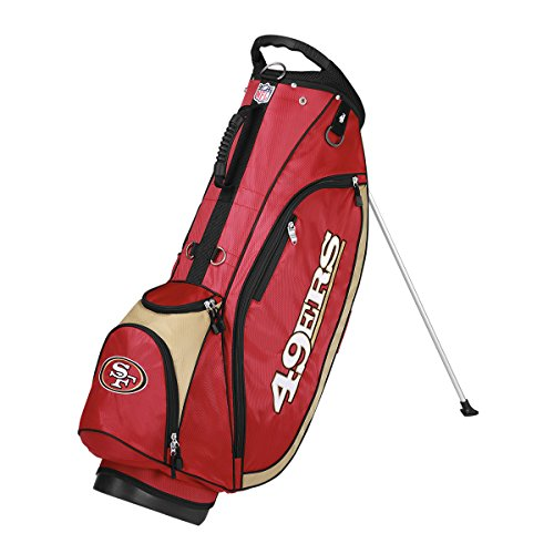- Wilson NFL San Francisco 49ers Carry Golf Bag, Burgundy/Gold, One Size