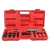 Adumly Set of 9 pcs Inner Bearing Extractor Puller Set Bushes Puller Slide Hammer