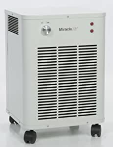 Miracle air pm 400uv hepa commercial grade air for Office air purifier amazon