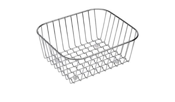 Franke 0398162 Acero inoxidable cesta y bandeja para el fregadero - Cestas y bandejas para el fregadero (Acero inoxidable, Acero inoxidable, 300 mm, ...