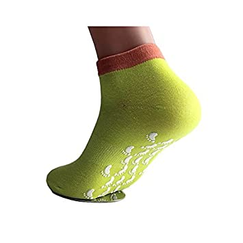 Qees Non Slip Yoga Socks Suitable For Fitness Dance Ballet Size Uk