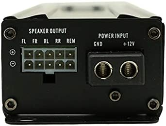 320W Compact 4 Channel Class D Full Range Micro Amplifier Ignite RM4.80