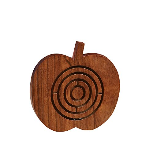 Rusticity Wooden Labrynth Puzzle Game - Apple Design | Handmade |