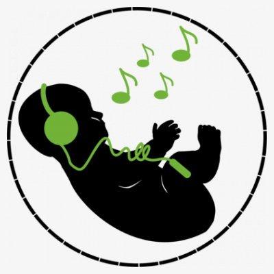 Sudadera con capucha de mujer Music DJ Baby Inside by Shirtcity Blanco