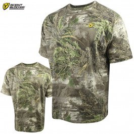 Scent Blocker Fused Cotton T-Shirt (2X)- RTMX-1