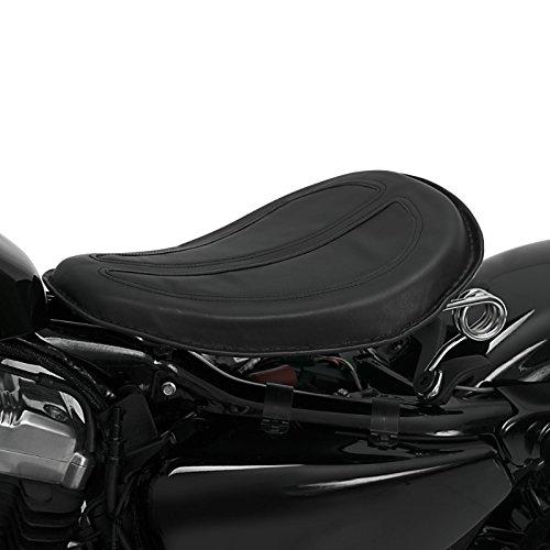 Solo Bobber Gel Schwingsattel f/ür Harley Davidson Sportster 1200 CA//CB Custom Sportster 1200 Custom//Nightster//Roadster//T Superlow schwarz