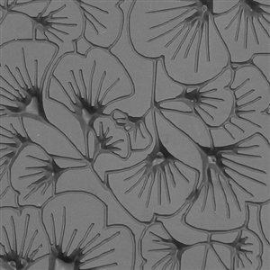 Cool Tools - Flexible Texture Tile - Gingko Leaves Embossed - 4