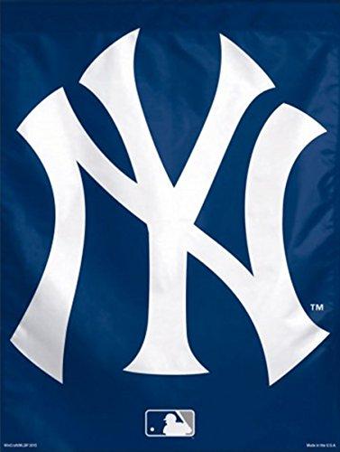 New York Yankees Flag 27x37 Vertical MLB House Banner NY Logo