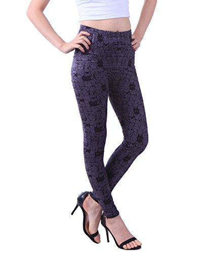 HDE Womens Leggings Fashion Stretch
