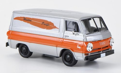Dodge A-100 Van, Western Pacific, Model Car, Ready-made, Brekina 1:87