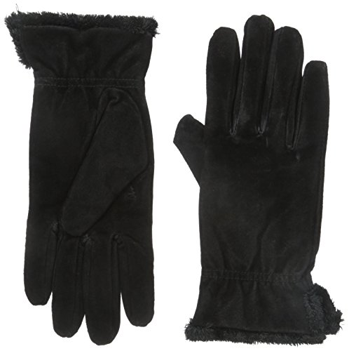 - isotoner Women's Genuine Suede Cold Weather Gloves with Warm, Soft Lining