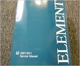 repair manual honda element