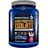 BodyTech Whey Protein Isolate Powder with 25 Grams of Protein per Serving BCAA's Ideal for Post Workout Muscle Building and Growth, Contains Milk and Soy, Fruity Cereal Flavor (1.5 Pounds)