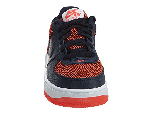 Nike Barn Air Force Ett Premie (gs) Basket Sko Ljust Purpur / Obsidian Vit