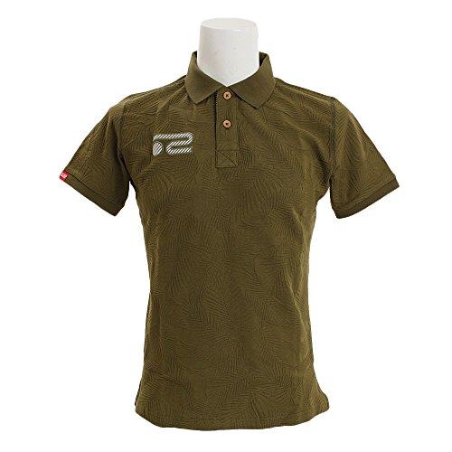 ロサーセン ゴルフウェア ポロシャツ 半袖 天竺ジャガードポロ 044-27444 27カーキ 48(M)