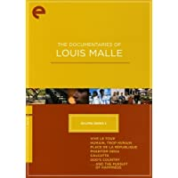The Documentaries of Louis Malle - Eclipse Series 2 (Vive le tour / Humain, Trop Humain / Place de la Rpublique / Phantom India / Calcutta / God's Country / ...And the Pursuit of Happiness) - Criterion Collection