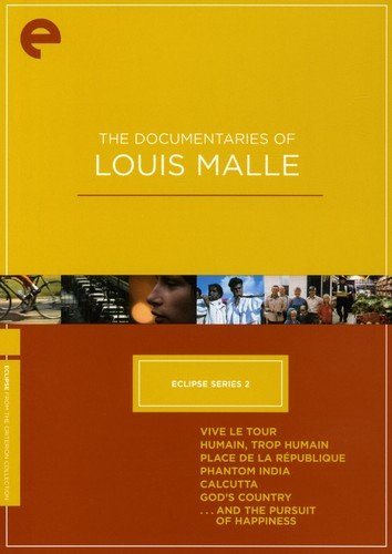 Calcutta Collection - Eclipse Series 2: The Documentaries of Louis Malle (Vive le Tour / Humain, trop humain / Place de la République / Phantom India / Calcutta / God's Country / ...And the Pursuit of Happiness) (The Criterion Collection)
