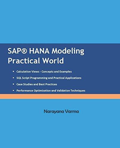 SAP HANA Modeling Practical World