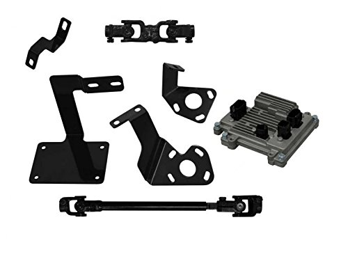 SuperATV Kawasaki Mule Pro FXT/FX/DX/FXR EZ-STEER Power Steering Kit (2015+) by SuperATV.com