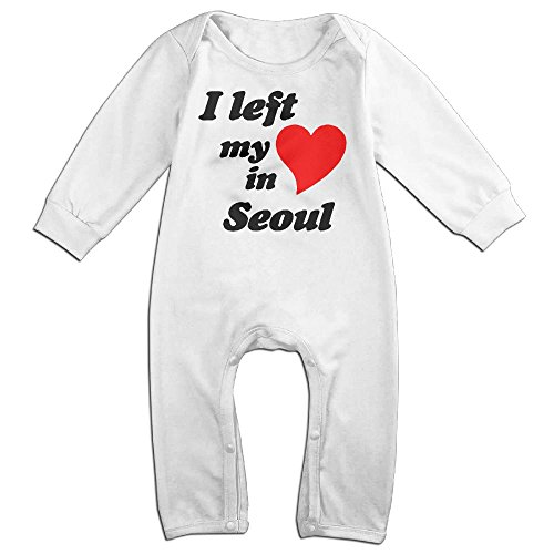 Costumes Ferreira (NiuNiu India Heart Toddler Infant Baby Long Sleeve Bodysuit Baby OnesieOutfits Jumpsuit For 0-24 Months White 18)