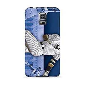 Protector Hard Cell-phone Cases For Samsung Galaxy S5 With Allow Personal Design HD New York Yankees Series JasonPelletier