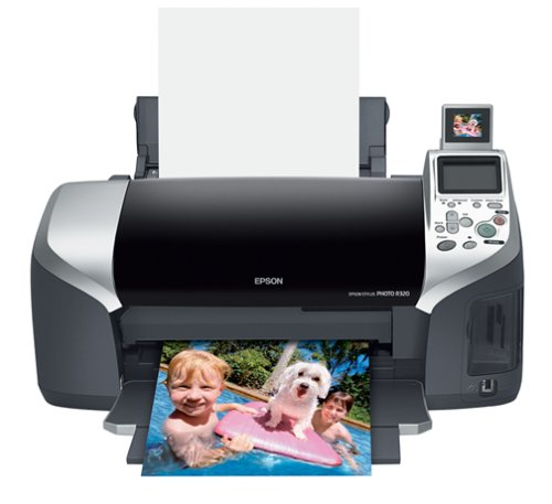 - Epson Stylus R320 Photo Inkjet Printer