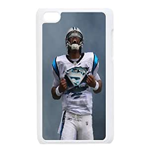 Best Phone case At MengHaiXin Store The NFL stars Cam Newton from Carolina Panthers team custom design case cover Pattern 176 FOR IPod Touch 4th