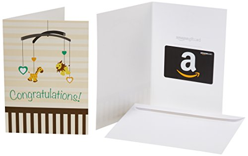in a Greeting Card (New Baby Congratulations Design) ()