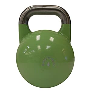RAGE Fitness Competition Kettlebell, single cast steel construction, great for cross training, develops strength, power, endurance and dynamic flexibility