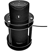 FitSand (TM) Speaker Stand Guard Station Holder for Amazon Tap - Black