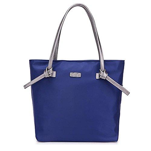 Linge Oxford Cloth Shoulder Bags Hand Bag Leisure Bags, Blue Blue