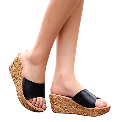 fereshte Mujer Tacón negro con Zapatos qgrHwUq