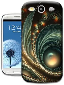 Peacock Feathers Wallpaper Phone Cases For Samsung Galaxy S3 By Bradley S Shop Amazon Co Uk Electronics