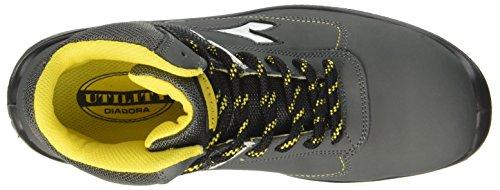 D Grey Castello Unisex S3 Hi Blitz Shoes Work Grigio Diadora Adults' wAqEP8S