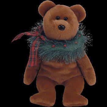 1 X TY Beanie Babies - Hollydays the Holiday Bear