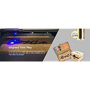 [Open Filament] da Vinci 1.0 Pro. Wireless 3D Printer/Upgradable Laser Engraver – 7.8″ x 7.8″ x 7.8″ Built Volume (Fully Enclosed Design – ABS/PLA/Tough PLA/PETG/HIPS/Wood/& More)