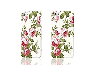 Luxury Shabby Chic Vintage Pink Floral Rose Roses Kitch Style Cream 3D Rough iphone 4 4S Case Skin, fashion design image custom iPhone 4 4S , durable iphone 4 4S hard 3D case cover for iphone 4 4S, Case New Design By Codystore