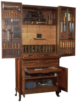 Build Your Own Tool Cabinet Plan American Furniture Design