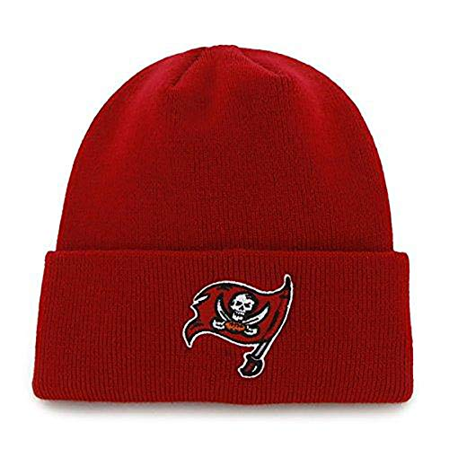 Fad Habit NFL Tampa Bay Buccaneers Raised Cuffed Knit Cap