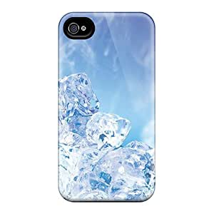 Iphone Cover Case - Ice Cubes Protective Case Compatibel With Iphone 4/4s