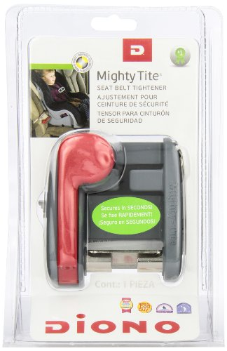 Diono Mighty Tite Car Seat Tightner, Grey (Discontinued by Manufacturer)
